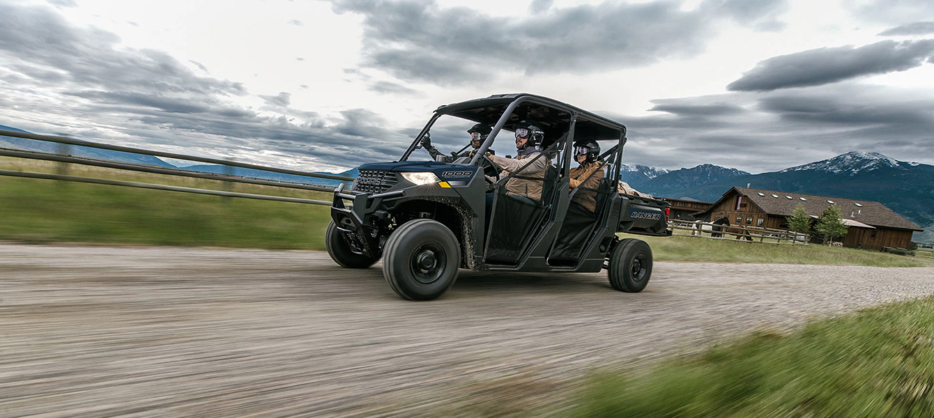 2021 Polaris Ranger Crew 1000 Premium in Hollister, California - Photo 4