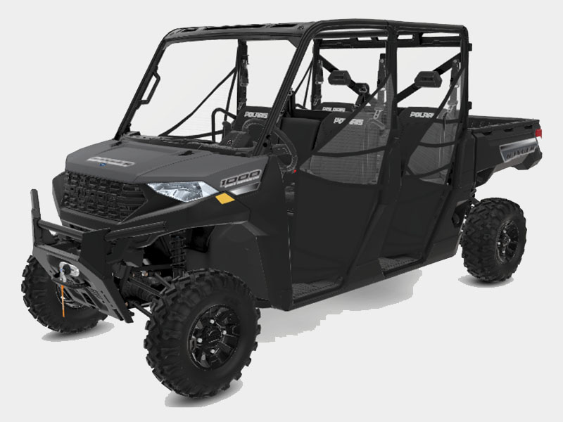 2021 Polaris Ranger Crew 1000 Premium + Winter Prep Package in Cedar Rapids, Iowa - Photo 1