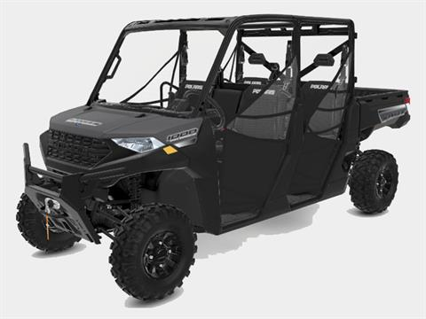 2021 Polaris Ranger Crew 1000 Premium + Winter Prep Package in Monroe, Michigan
