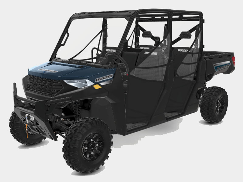 2021 Polaris Ranger Crew 1000 Premium + Winter Prep Package in Castaic, California - Photo 1