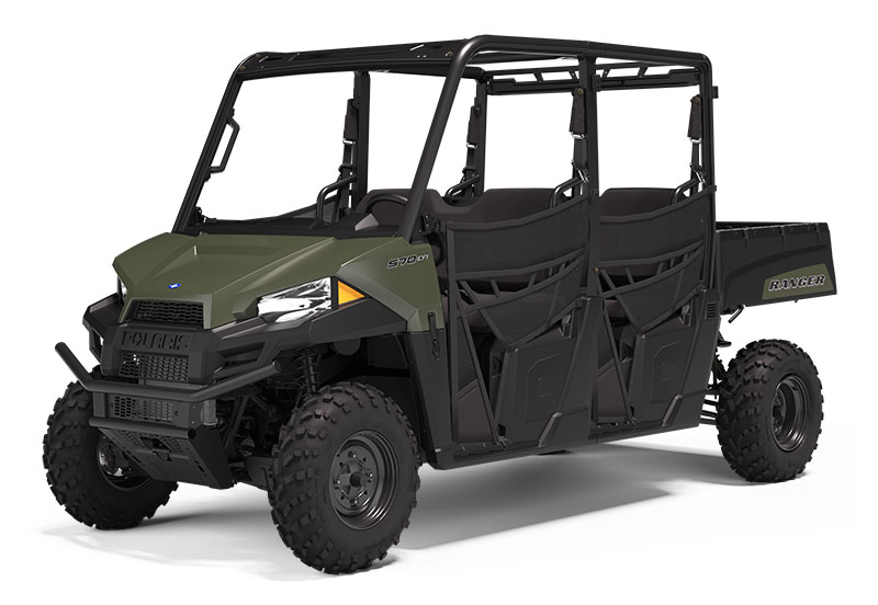 2021 Polaris Ranger Crew 570 in Tampa, Florida - Photo 1