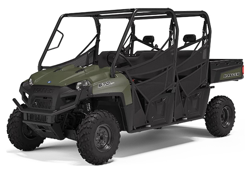 2021 Polaris Ranger Crew 570 Full-Size in Ponderay, Idaho - Photo 1