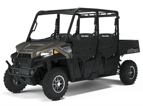 2021 Polaris Ranger Crew 570 Premium in Bigfork, Minnesota
