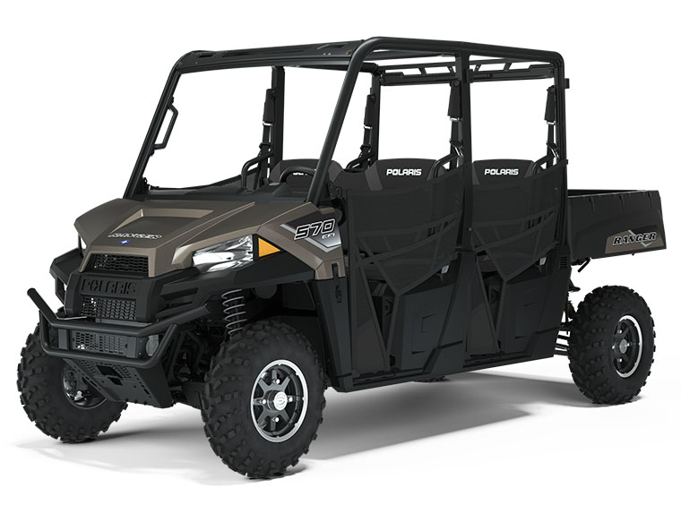 2021 Polaris Ranger Crew 570 Premium in Lake Mills, Iowa - Photo 1