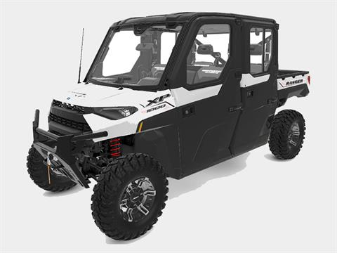 2021 Polaris Ranger Crew XP 1000 NorthStar Edition Ultimate + MB Quart Audio Package in Bigfork, Minnesota