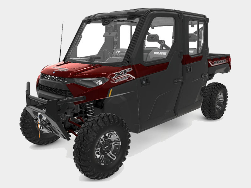 2021 Polaris Ranger Crew XP 1000 NorthStar Edition Ultimate + MB Quart Audio Package in Morgan, Utah - Photo 1