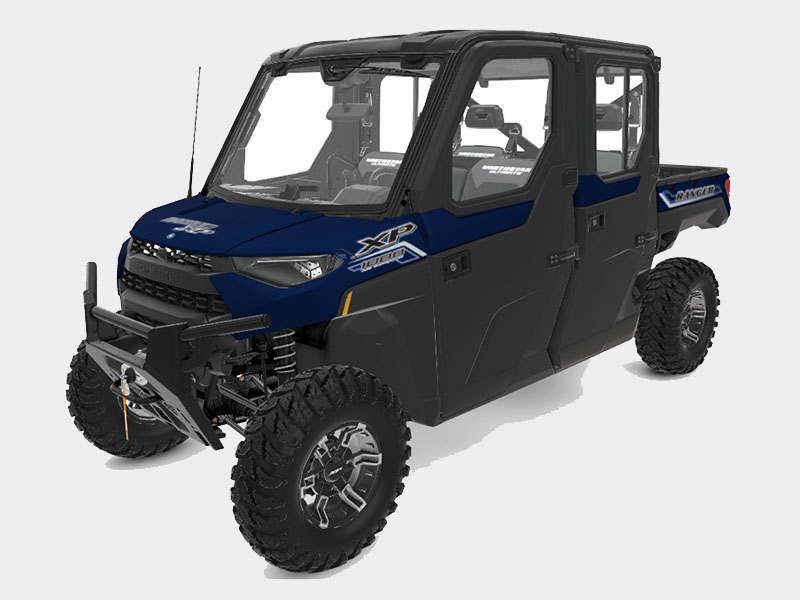 2021 Polaris Ranger Crew XP 1000 NorthStar Edition Ultimate + MB Quart Audio Package in Salinas, California - Photo 1