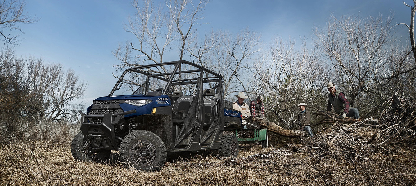 2021 Polaris Ranger Crew XP 1000 Premium in Beaver Dam, Wisconsin - Photo 3