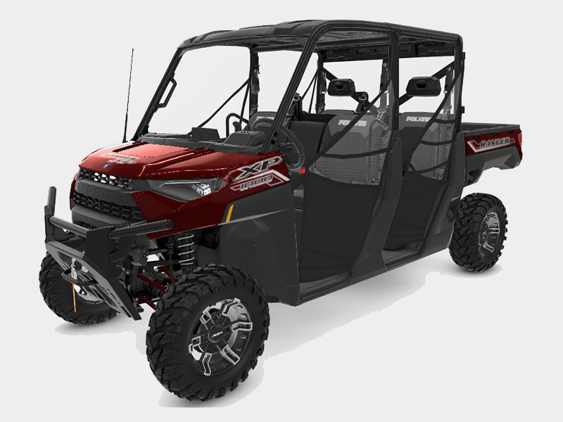 2021 Polaris Ranger Crew XP 1000 Premium + Ride Command Package in West Burlington, Iowa - Photo 1