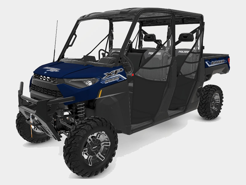 2021 Polaris Ranger Crew XP 1000 Premium + Ride Command Package in Ukiah, California - Photo 1