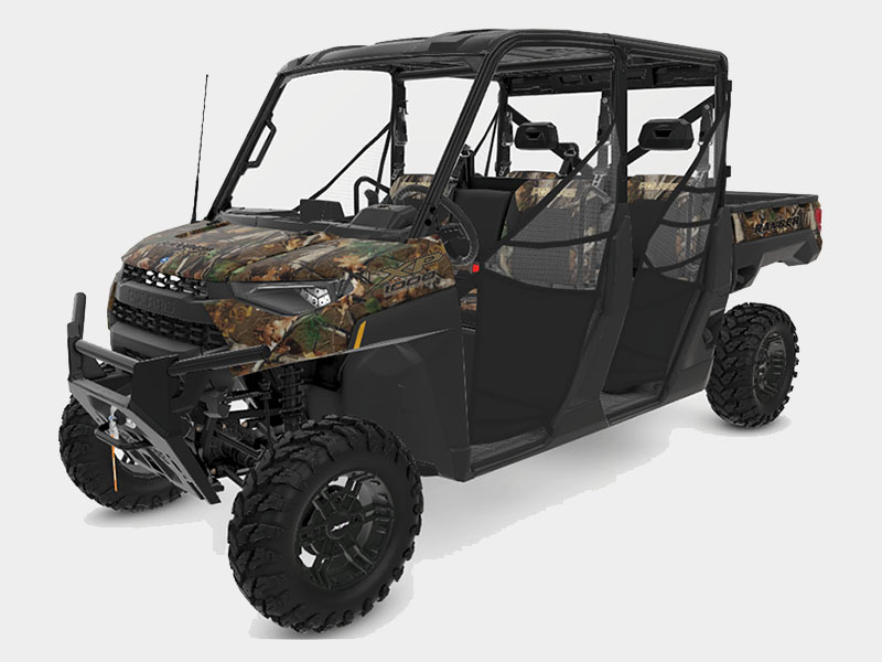 2021 Polaris Ranger Crew XP 1000 Premium + Ride Command Package in Ironwood, Michigan - Photo 1