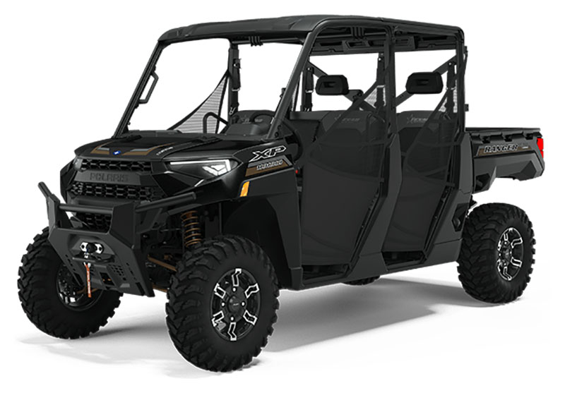 2021 Polaris Ranger Crew XP 1000 Texas Edition in Park Rapids, Minnesota - Photo 1