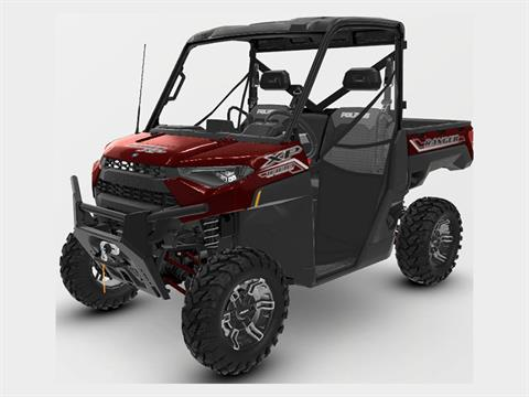 2021 Polaris Ranger XP 1000 Premium + Ride Command Package in Afton, Oklahoma