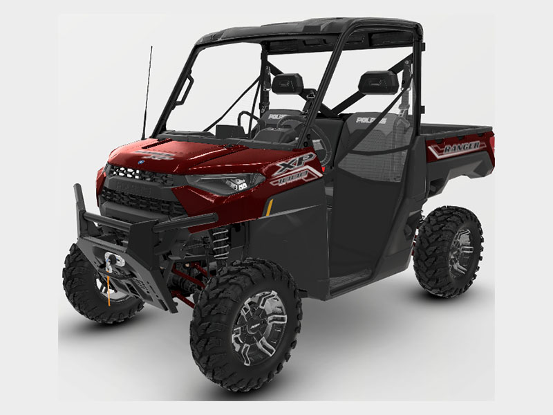 2021 Polaris Ranger XP 1000 Premium + Ride Command Package in Garden City, Kansas - Photo 1