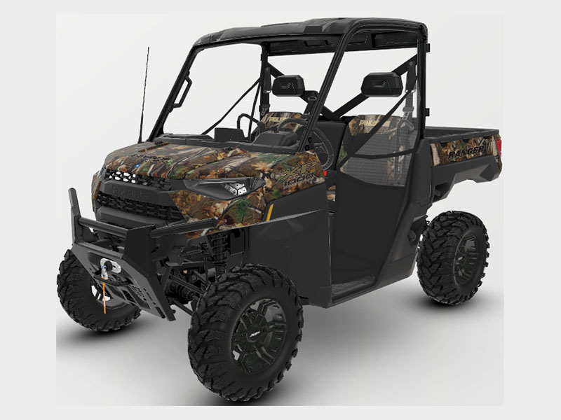 2021 Polaris Ranger XP 1000 Premium + Ride Command Package in Lincoln, Maine - Photo 1