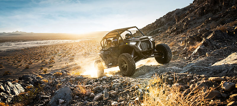 2021 Polaris RZR Turbo S 4 Lifted Lime LE in Lake City, Colorado - Photo 4