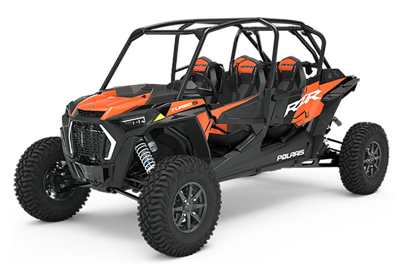2021 Polaris RZR Turbo S 4 Velocity in Powell, Wyoming - Photo 1