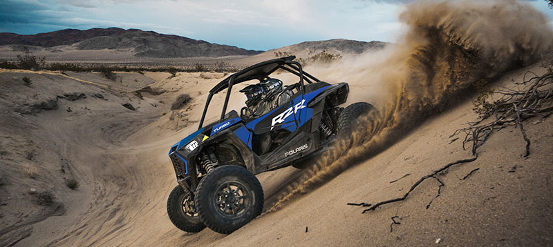 2021 Polaris RZR Turbo S Lifted Lime LE in Downing, Missouri - Photo 3