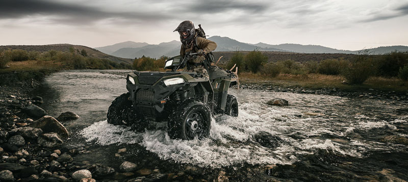2021 Polaris Sportsman 850 Premium Trail Package in Danbury, Connecticut - Photo 2