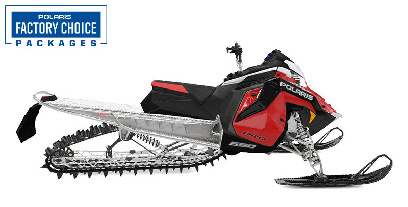 2022 Polaris 650 PRO RMK Matryx 155 Factory Choice in Three Lakes, Wisconsin