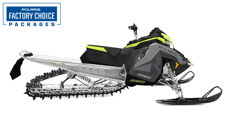2022 Polaris 650 PRO RMK Matryx 155 Factory Choice in Waterbury, Connecticut