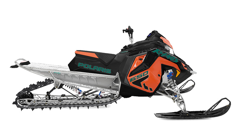 2022 Polaris 650 RMK KHAOS Matryx Slash 146 SC in Three Lakes, Wisconsin