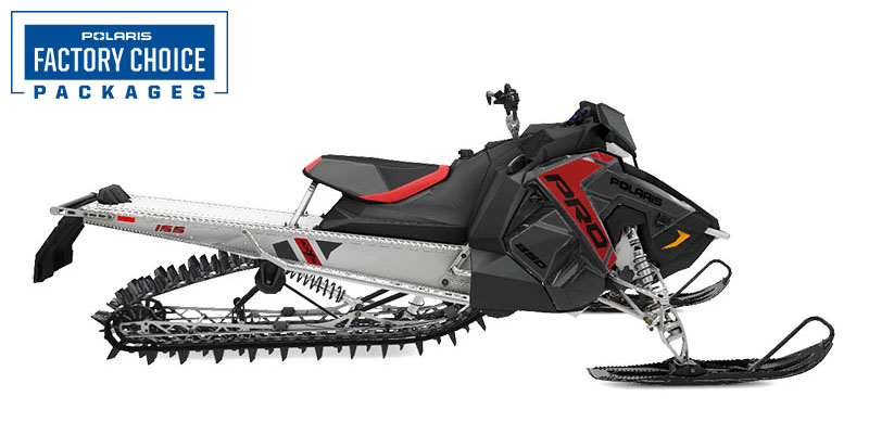 2022 Polaris 850 PRO RMK Axys 155 3 in. Factory Choice in Malone, New York