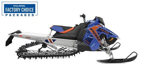 2022 Polaris 850 PRO RMK Axys 155 3 in. Factory Choice in Hancock, Wisconsin
