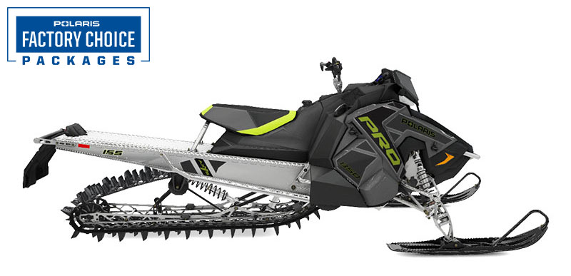 2022 Polaris 850 PRO RMK Axys 155 3 in. Factory Choice in Lincoln, Maine