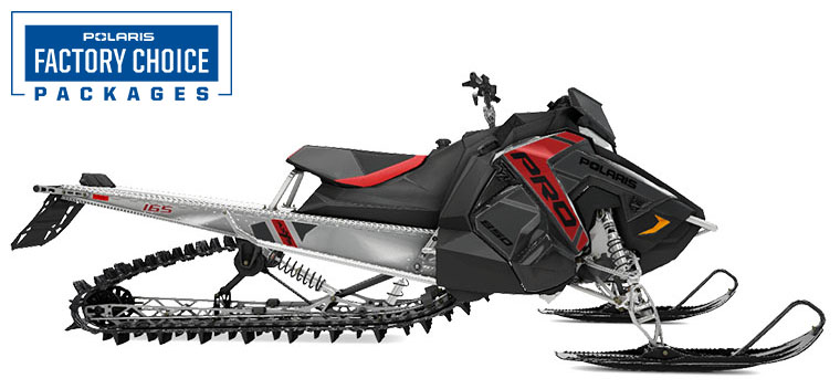 2022 Polaris 850 PRO RMK Axys 165 2.75 in. Factory Choice in Appleton, Wisconsin