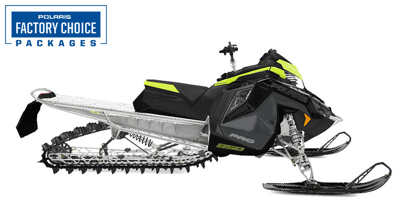 2022 Polaris 850 PRO RMK Matryx 155 Factory Choice in Rothschild, Wisconsin