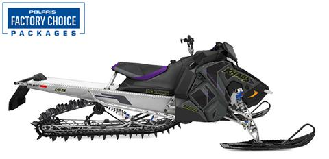 2022 Polaris 850 RMK KHAOS Axys 155 3 in. Factory Choice in Hancock, Wisconsin
