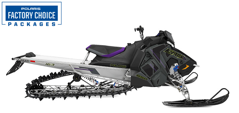 2022 Polaris 850 RMK KHAOS Axys 163 3 in. Factory Choice in Cottonwood, Idaho