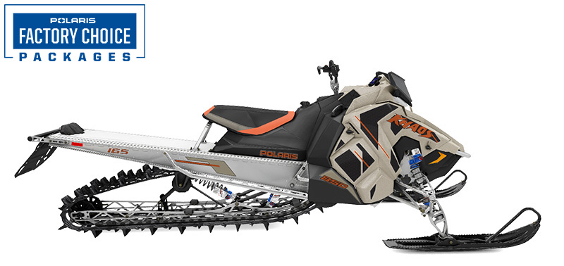 2022 Polaris 850 RMK KHAOS Axys 165 2.75 in. Factory Choice in Mio, Michigan