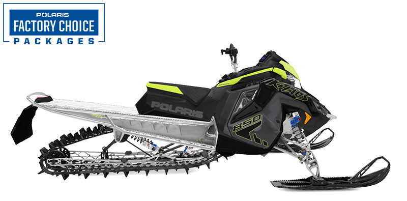 2022 Polaris 850 RMK KHAOS Matryx 155 Factory Choice in Appleton, Wisconsin
