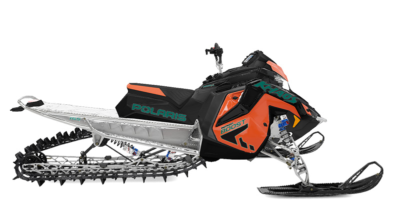 2022 Polaris Patriot Boost 850 RMK KHAOS Matryx Slash 155 SC in Deerwood, Minnesota