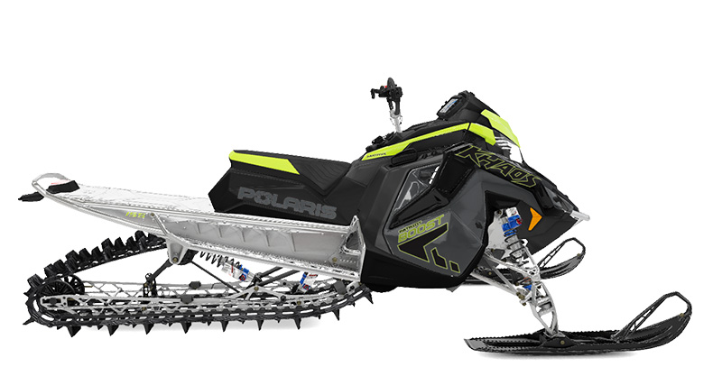 2022 Polaris Patriot Boost 850 RMK KHAOS Matryx Slash 155 SC in Duck Creek Village, Utah