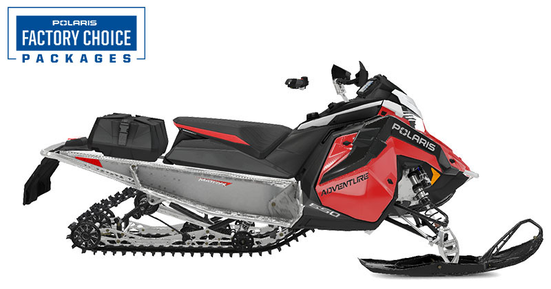 2022 Polaris 650 Indy Adventure 137 Factory Choice in Cottonwood, Idaho
