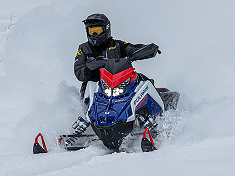 2022 Polaris 650 Indy XCR 128 SC in Albuquerque, New Mexico - Photo 8