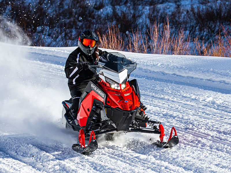 2022 Polaris 650 Indy XC 137 Factory Choice in Lincoln, Maine - Photo 9
