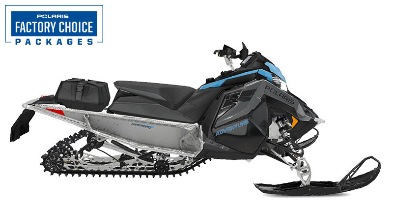 2022 Polaris 850 Indy Adventure 137 Factory Choice in Soldotna, Alaska