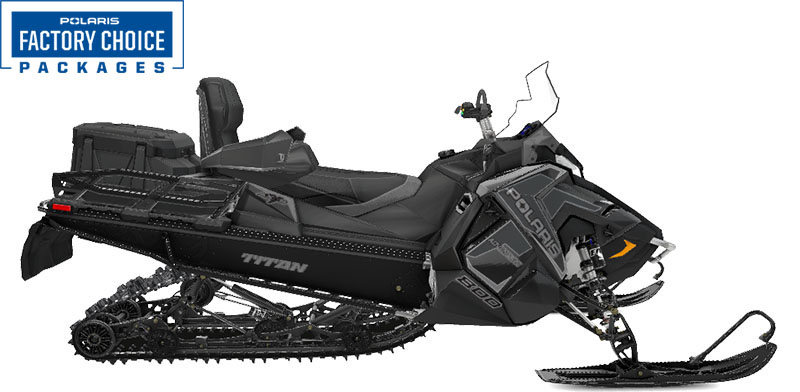 2022 Polaris 800 Titan Adventure 155 Factory Choice in Pinehurst, Idaho