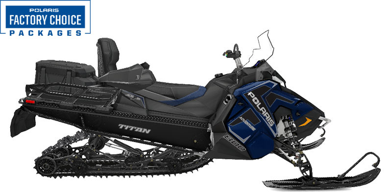 2022 Polaris 800 Titan Adventure 155 Factory Choice in Ponderay, Idaho