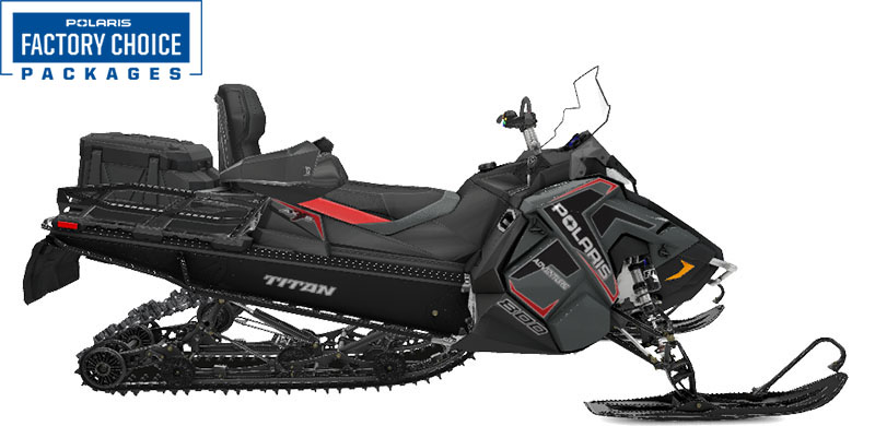 2022 Polaris 800 Titan Adventure 155 Factory Choice in Pittsfield, Massachusetts