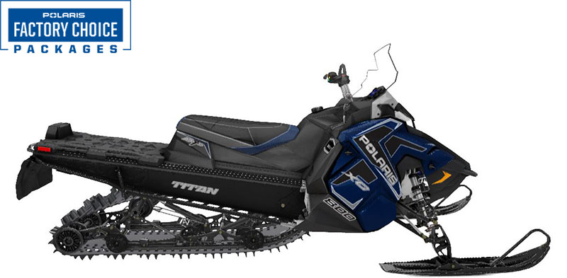 2022 Polaris 800 Titan XC 155 Factory Choice in Little Falls, New York