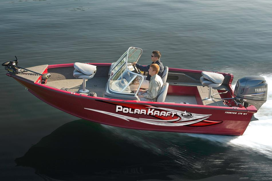 2017 Polar Kraft Frontier 179 WT in Hancock, Michigan