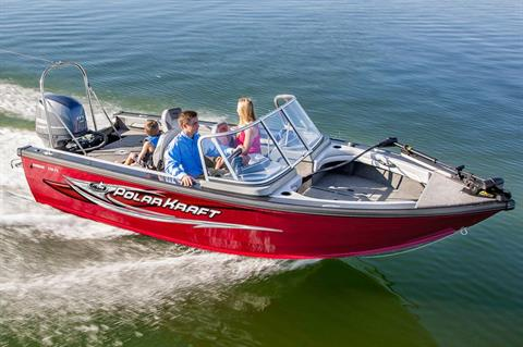 2017 Polar Kraft Kodiak Sport 170 FS-20 in Harrison, Michigan