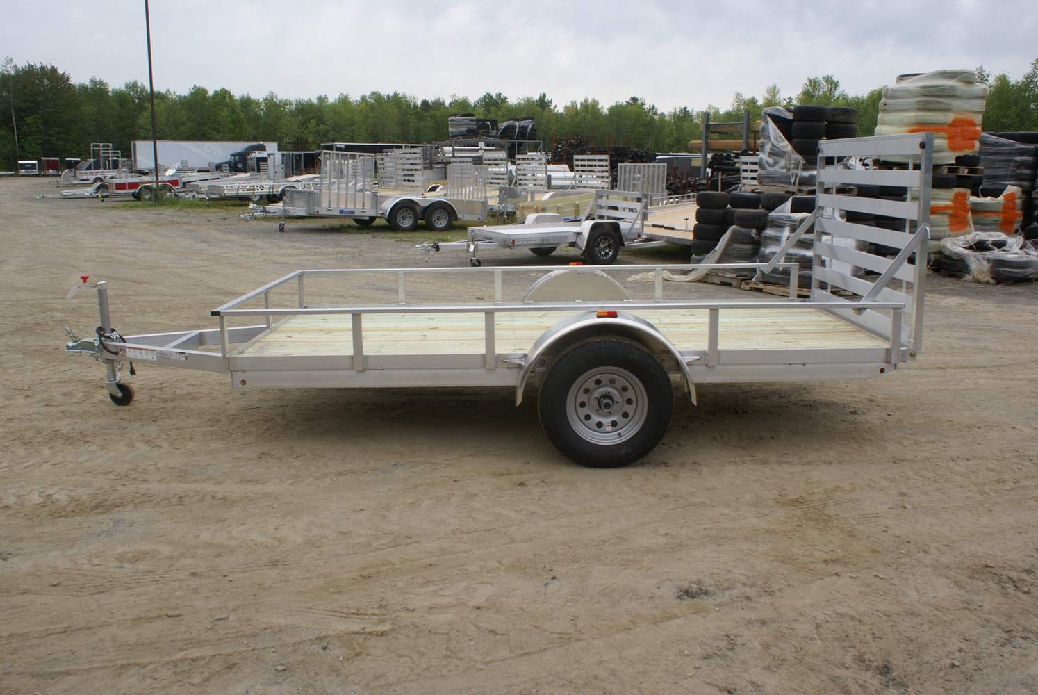 2018 Polaris Trailers PU72x10WR-2.0 in Jones, Oklahoma