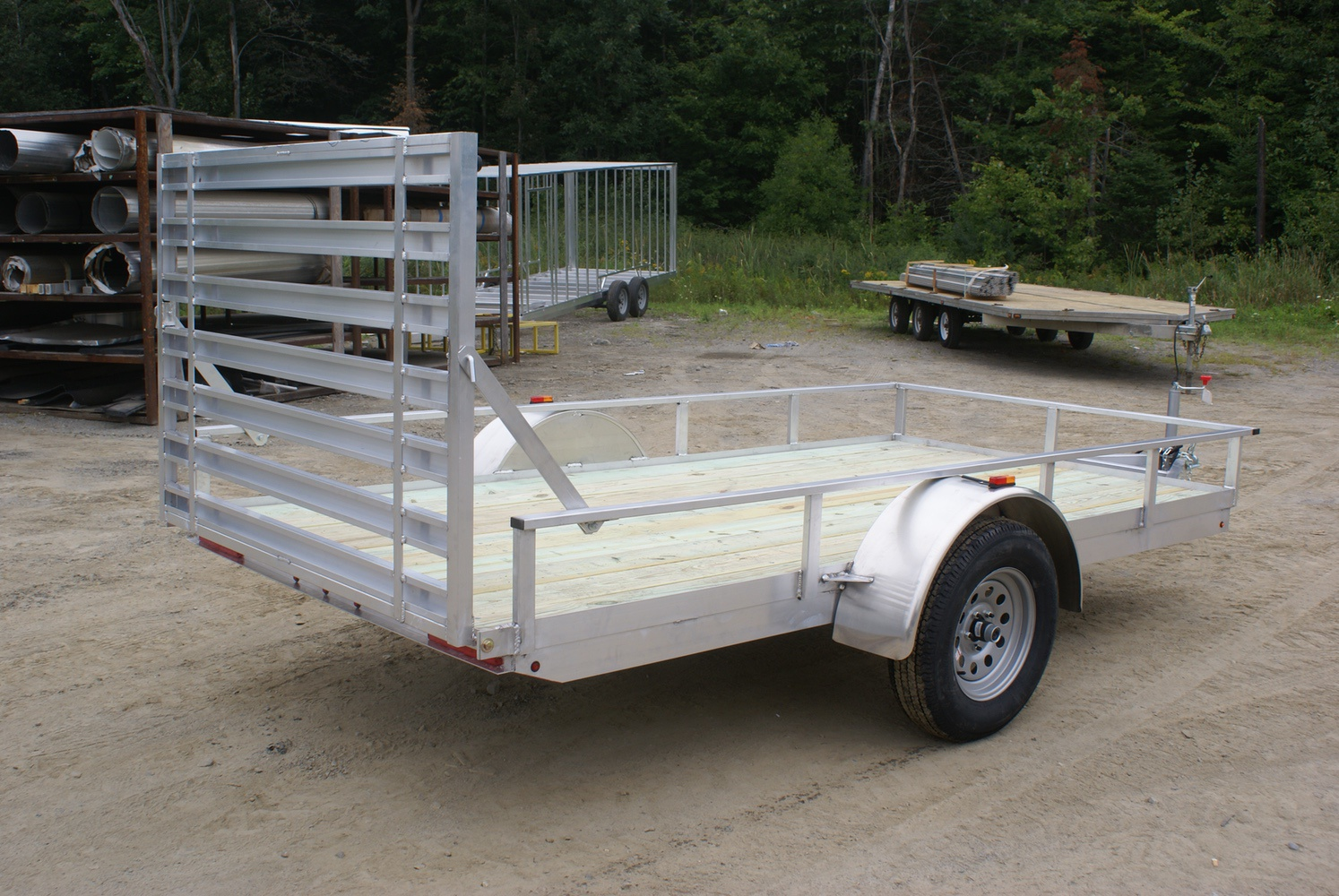 2019 Polaris Trailers PU72x10WR-2.0 in Milford, New Hampshire