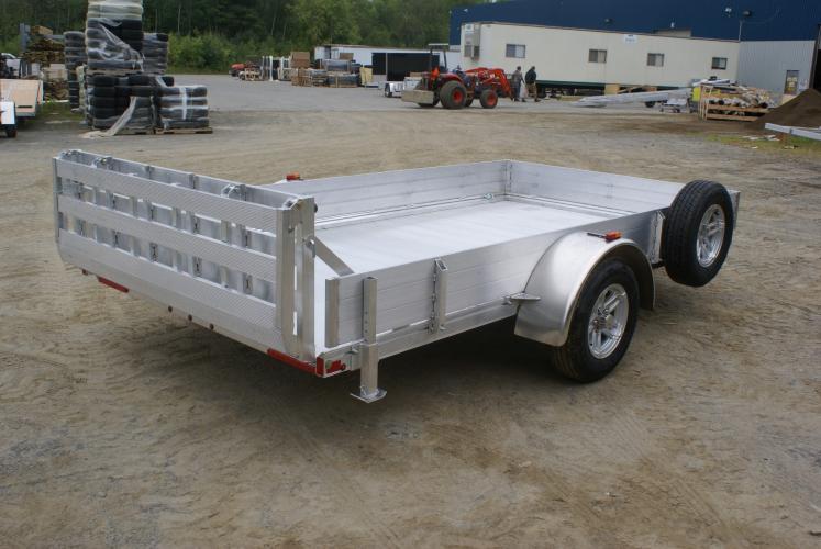 2020 Polaris Trailers PU54x8AR-2.0 in Marshall, Texas - Photo 7